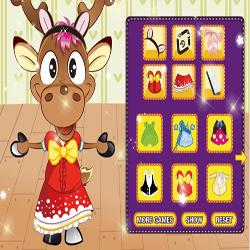 cute deer dress up